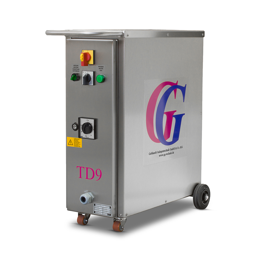 Steam Generator TD9 with OPT-100011 or OPT-100012